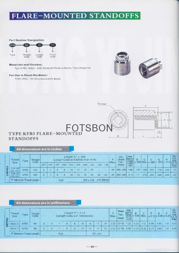 KFB3-440-10 漲鉚擠壓螺母柱   3
