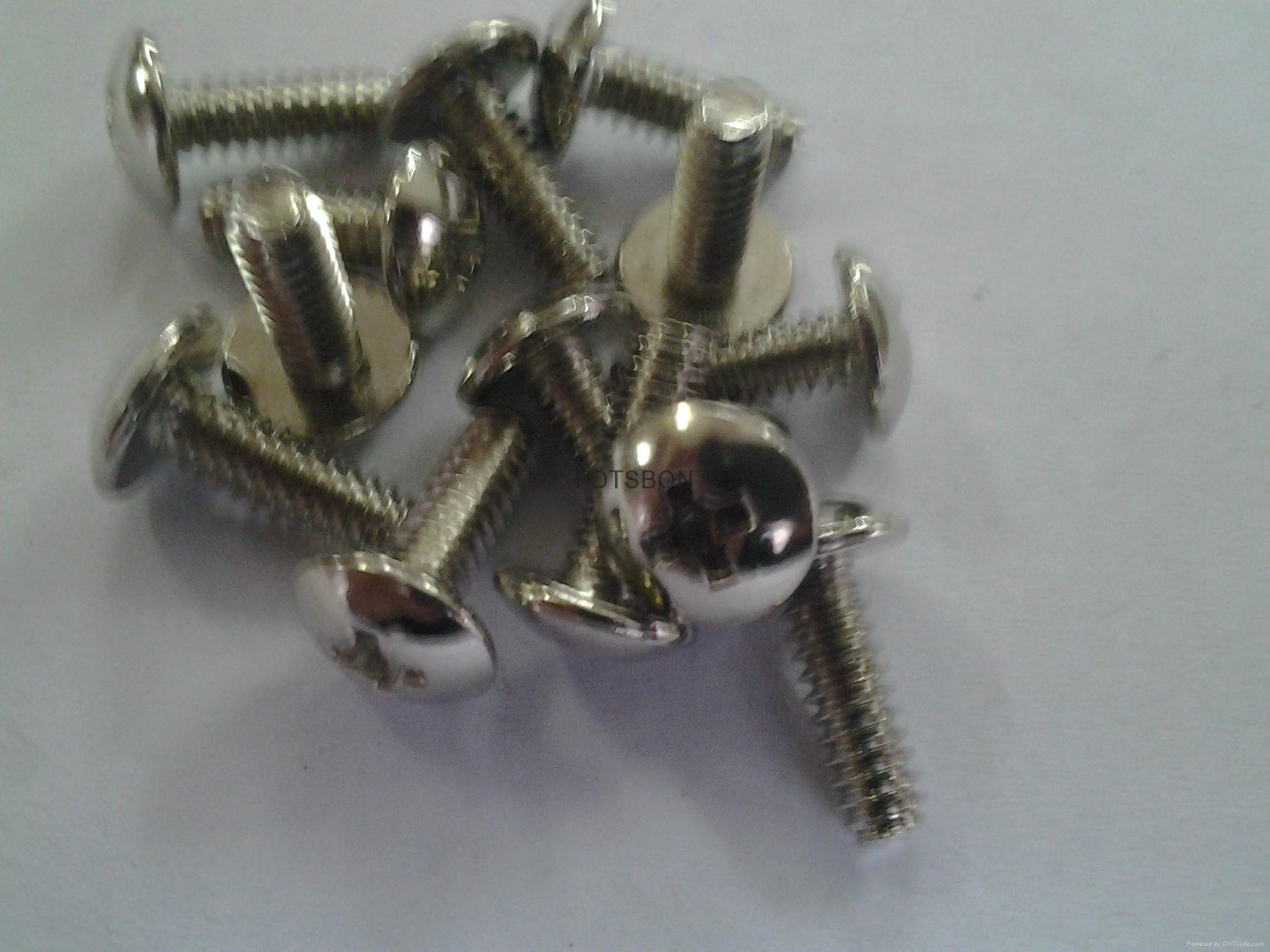 十字盤頭螺釘GB818 ,碳鋼和不鏽鋼,機械螺紋, 2