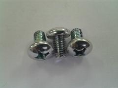 十字盤頭螺釘GB818 ,碳鋼和不鏽鋼,機械螺紋,