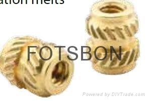 銅鑲嵌螺母MSIB-M1.4-300 1