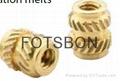 铜镶嵌螺母MSIB-M1.4-