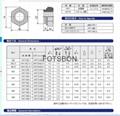 六角型压铆螺母 HNT-M6-2