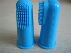硅胶指套牙刷 单个盒子包装