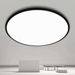 現代餐廳燈具吸頂燈吊燈簡約超薄創意北歐風圓形臥室燈