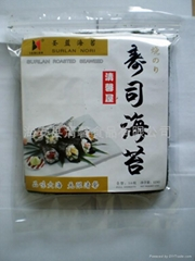 Edible seaweed product yaki nori  gold grade