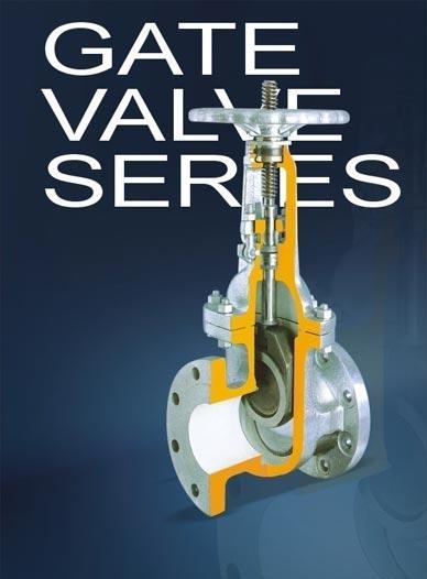 Steel gate valves