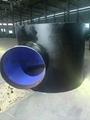 ASME B 16.9 ASTM A234 WPB Butt-Welding Tees 3