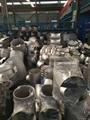 ASTM A403 WP304 WP304L WP316 WP316L reducing Tee 3