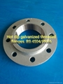 Hot dip galvanized threaded flanges BS4504/PN16 DN100