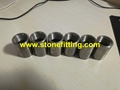 "A105 MS Sockets / Pipe Coupling ¾"" size CL: 3000 NPT threaded"