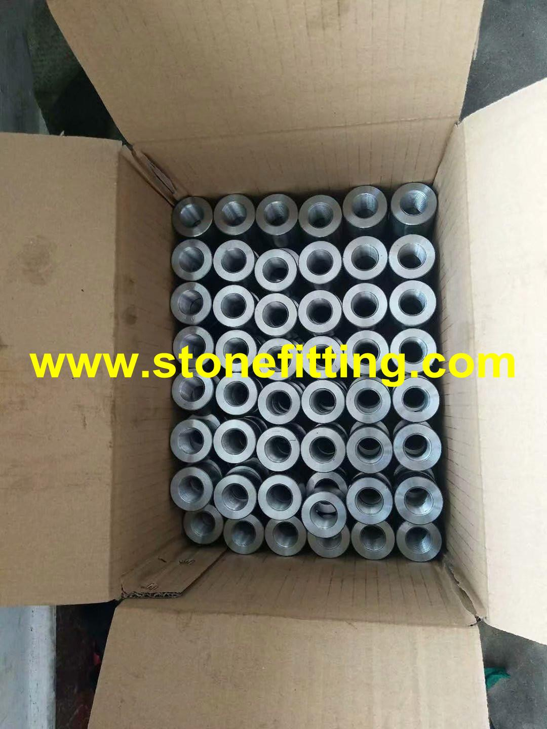 """A105 MS Sockets / Pipe Coupling ¾"""" size CL: 3000 NPT threaded 5"""