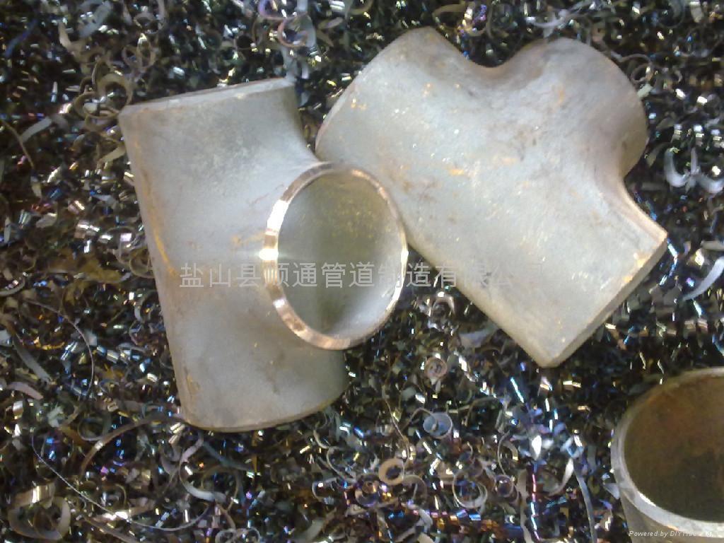 不鏽鋼對焊三通 1