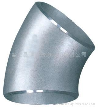 45°stainless elbow 1
