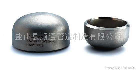 不锈钢管帽 1