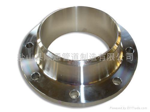 不锈钢对焊法兰 1