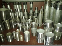 Galvanized pipe Nipple f
