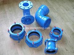 Ductile Iron Pipe Fittings ISO2531, ISO4422, EN545, EN598, BS4772,