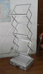 折疊資料架