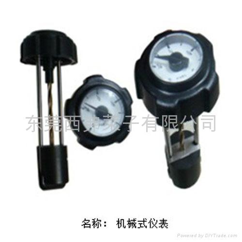 机械式发电机组油量油表 3