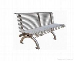 不鏽鋼公園椅