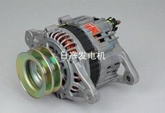 日产发动机配件发电机