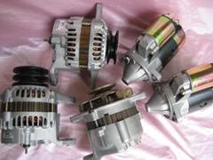 供应叉车配件尼桑叉车配件K21 K25发电机