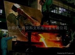 10吨中频炉
