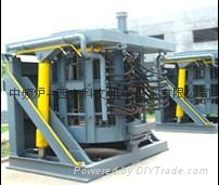 2吨中频熔炼炉