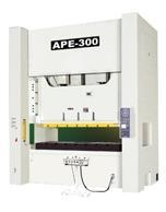 APE series closed-door type double crank precision steel frame press
