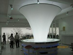 超寬透光軟膜天花寬3.1米