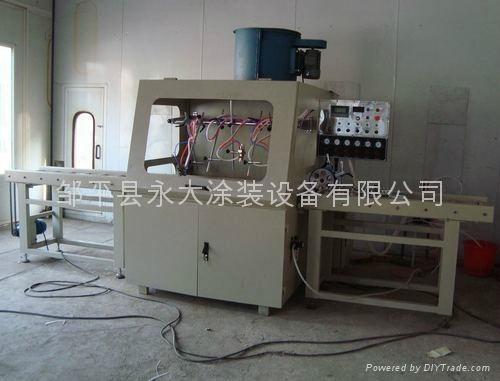 滾筒式線條自動噴塗機 1
