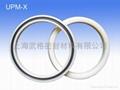 活塞/活塞杆(孔/軸)用 UPM-X型 聚氨酯+丁腈橡膠 密封圈 2