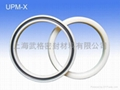 活塞/活塞杆(孔/轴)用 UPM-X型 聚氨酯+丁腈橡胶 密封圈 2