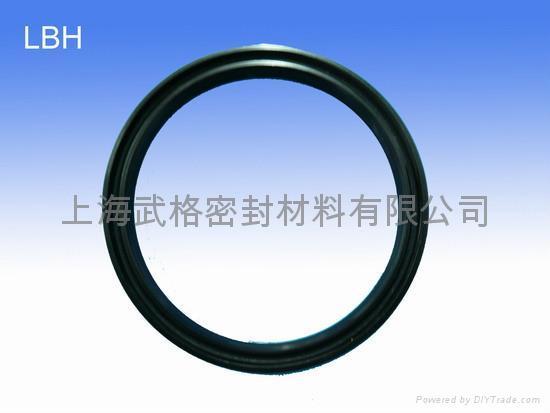 液压防尘 LBH型 丁腈橡胶 往复运动用密封圈 2