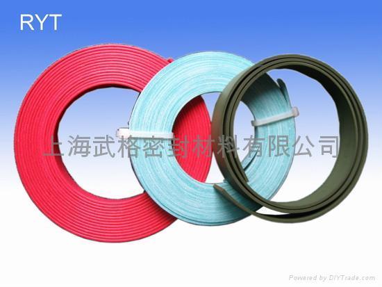 活塞的抗磨環 RYT型 聚四氟乙烯 密封圈 2