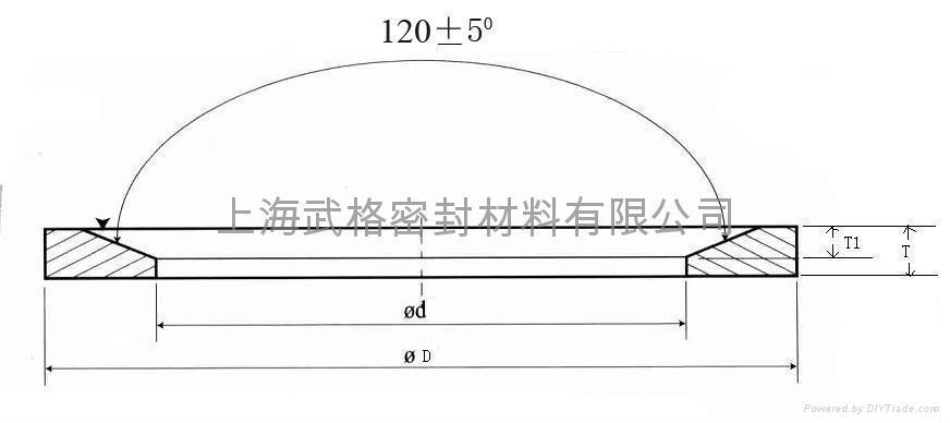 快速接頭密封墊:DIN-3869 2