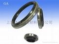 液压防尘 GA型 丁腈橡胶+金属环 密封圈 2