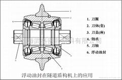隧道盾構機用浮動油封