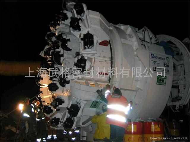 隧道盾構機用浮動油封 3