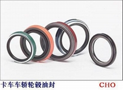 Oil seal for vehicles