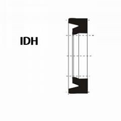 活塞杆(轴)用 IDH型 丁腈橡胶 密封圈