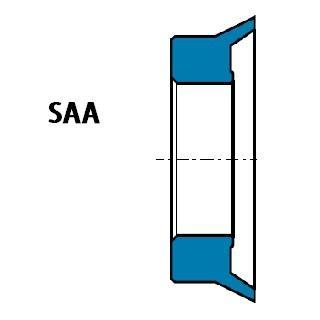 液壓防塵 SAA型 聚氨酯 外唇口密封圈 1