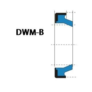 液压防尘 DWM-B型 聚氨酯+金属环 密封圈 1