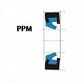 液壓防塵 PPM型 聚氨酯+金屬環 密封圈 1