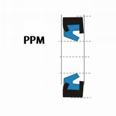 液压防尘 PPM型 聚氨酯+金属环 密封圈