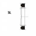 液壓緩衝環 SL型 丁腈橡膠+