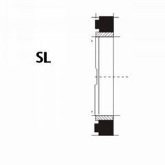 液压缓冲环 SL型 丁腈橡胶+尼龙 密封圈