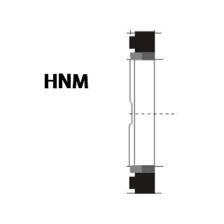液压缓冲环 HNM型 聚四氟乙烯+丁腈橡胶+尼龙 1
