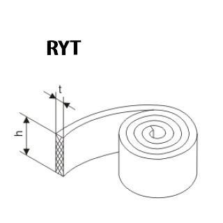 活塞的抗磨環 RYT型 聚四氟乙烯 密封圈 1