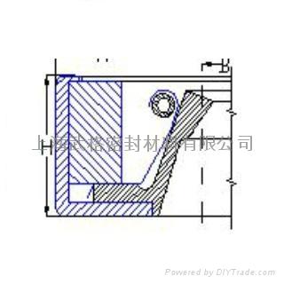 高性能金属骨架装配式骨架油封 2
